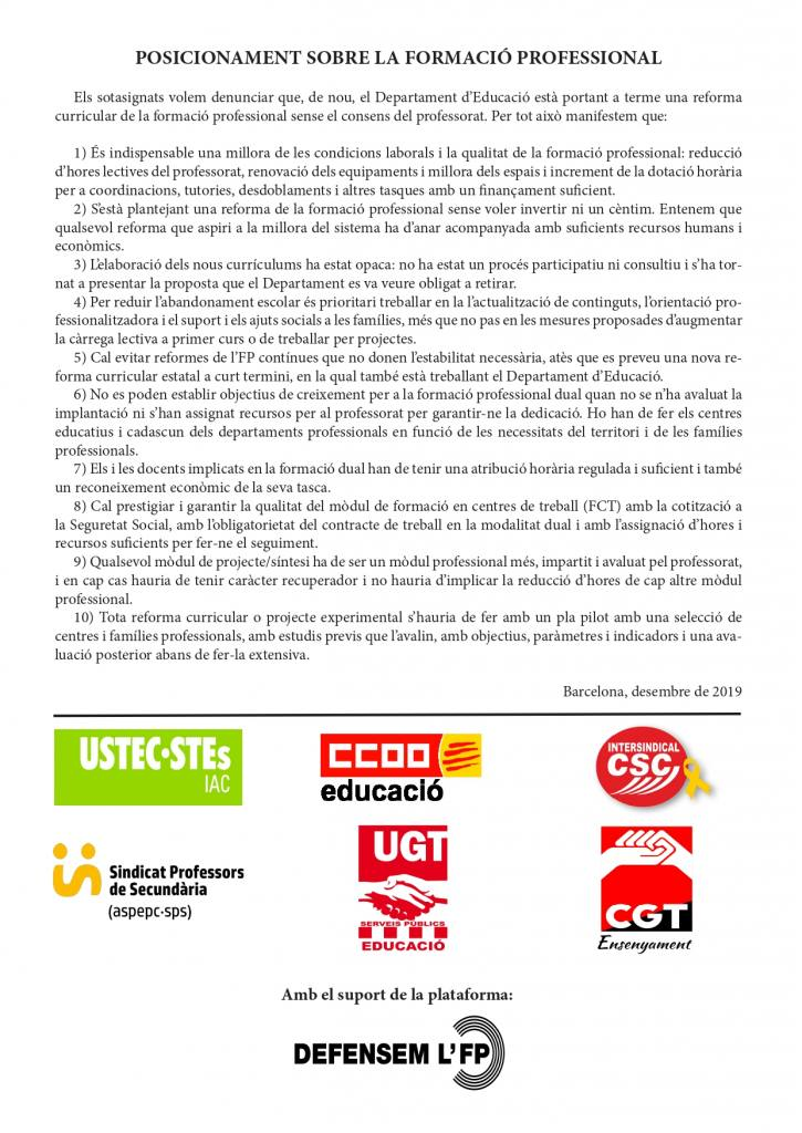 Manifest Unitari FP